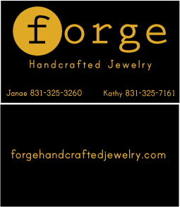 Forge Handcrafted Jewelry Business Cards
