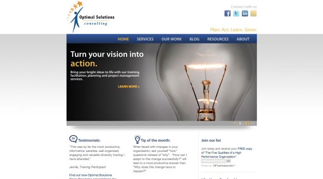 Optimal Solutions Consulting